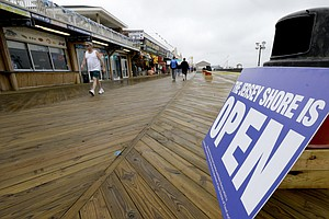 Rebuilding Storm-Damaged New Jersey, One Boardwalk At A Time