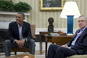 Good Cop, Bad Cop Routine Gets A Result For Obama And Reid