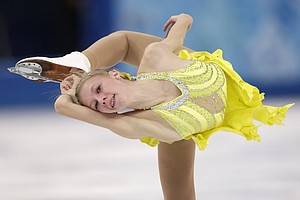 Female Figure Skaters Compete For Gold -- And The Sport's Future