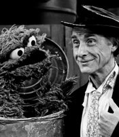 "Caesar portrays his classic ""professor"" in a guest appearance for ""Sesame Street"""
