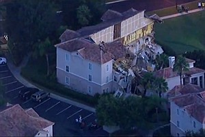 Resort Villa Collapses Into Sinkhole Near Disney World
