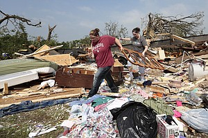 Oklahoma Tornados: Finding Aid, Giving Aid
