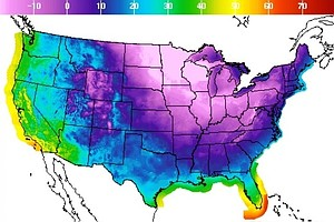 Nation's Turning Blue As Temperatures Continue To Plunge