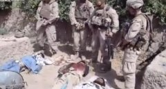 Marines urinating on Taliban corpses