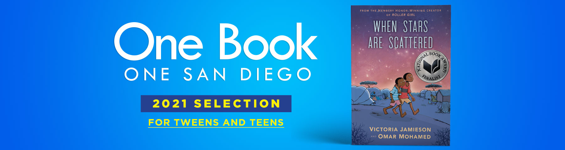 One Book One San Diego for Teens banner