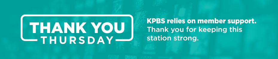 Give to KPBS and get a great gift.