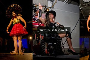 Photos From Sushi's Barbarian-Themed X-treme Fashion Show