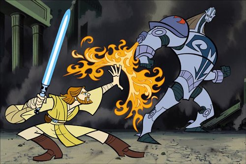 Star Wars Clone Wars Mini Series Star Wars The Clone Wars