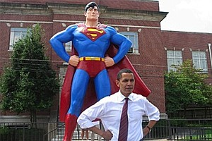 Barack Obama At Comic-Con?